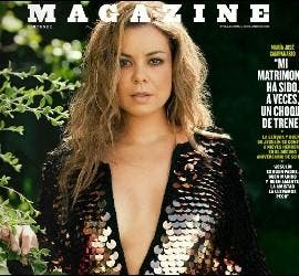 María José Campanario en la portada de el 'Magazine' de 'El Mundo'.