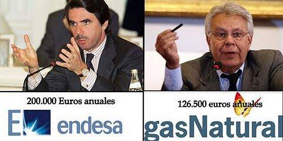 Aznar y González... no tantas diferencias