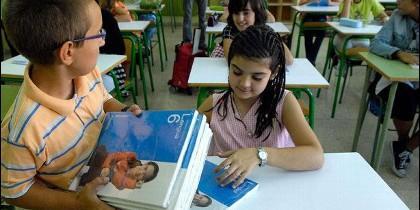 Libros de texto para el nuevo curso