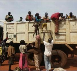 Refugiados del Alto Nilo