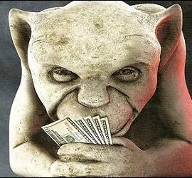 Avaricia, codicia, dinero y justicia social.