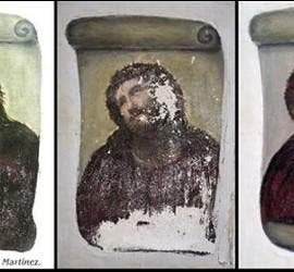 El antes y después del Ecce Homo pintado por el artista Elías García.