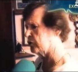 Cecilia Giménez, la 'restauradora' del Ecce homo.