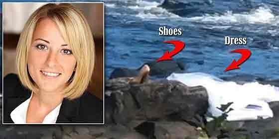 Maria Pantazopoulos, sus zapatos y su vestido.