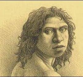 El Hombre de Atapuerca.