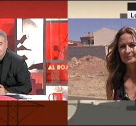 Captura de Al Rojo Vivo entrevistando a Olvido Hormigos.