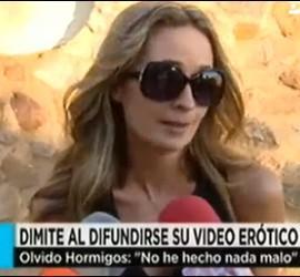 Captura de Olvido Hormigos en El programa de Ana Rosa, Telecinco.