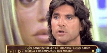 Toño Sanchís en 'Sálvame Deluxe'.
