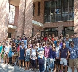 Alumnos extranjeros de la Universidad Loyola-Etea