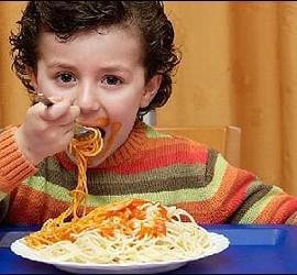 Menú, dieta, comida y escuela.