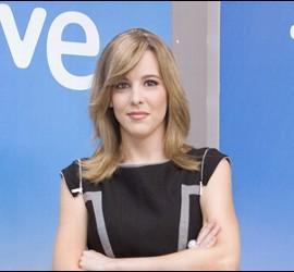 Ana Ibáñez, presentadora de 'La noche en 24h'.