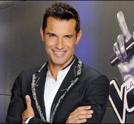 Foto promocional de Jesús Vázquez en 'La Voz'.