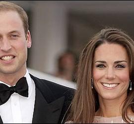 El príncipe Guillermo de Inglaterra y Kate Middleton.