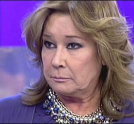 Captura de Mila Ximénez en Sálvame, Telecinco.