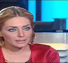 Zeina Yazjy, periodista de Dubai TV.