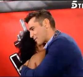 Captura de La Voz, programa de Telecinco.