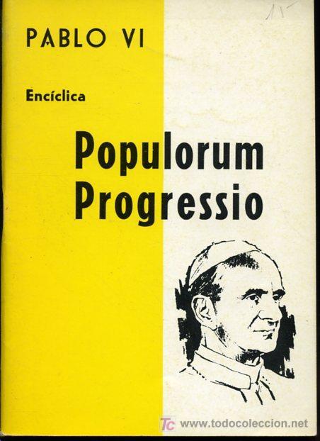 POPULORUM PROGESSIO