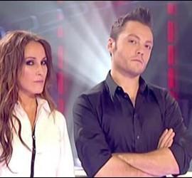 Malú y Tiziano Ferro en 'La Voz'.