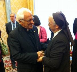 Padre Ángel y Sor Carmen