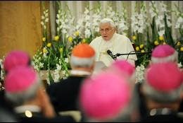 Benedicto aboga por el ecumenismo