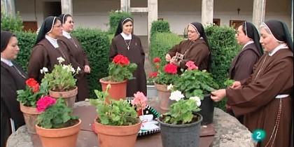 Un grupo de monjas franciscanas