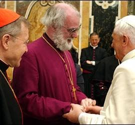 Williams y el Papa