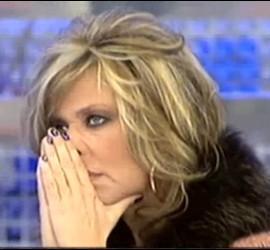 Captura de Lydia Lozano en 'Sálvame'.