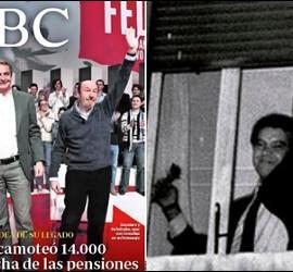 Portada de ABC 3-12-2012 y triunfo de González en 1982.