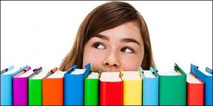 Estudiante, educación, enseñanza y examen.