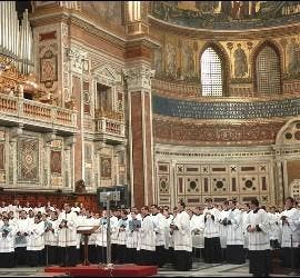 Ordenaciones de sacerdotes Legionarios en Roma