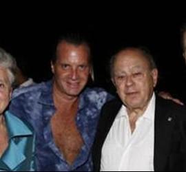 Marta Ferrusola con Jordi Pujol en Acapulco. El de la derecha es Jordi Pujol Ferrusola.