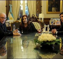 Cristina Kirchner se reunió con los obispos argentinos