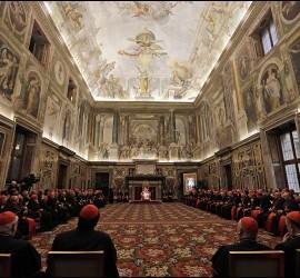 El Papa, en su discurso a la Curia romana
