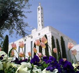 El templo de los mormones en Madrid
