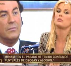 Pipi Estrada y Miriam Sánchez.