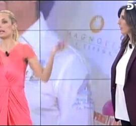 Miriam Sánchez y Paz Padilla.