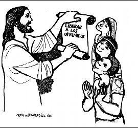 Jesus en Nazaret: liberad a los oprimidos