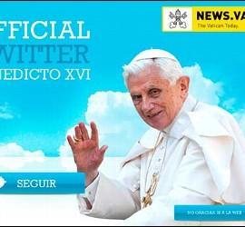 Twitter oficial de Benedicto XVI