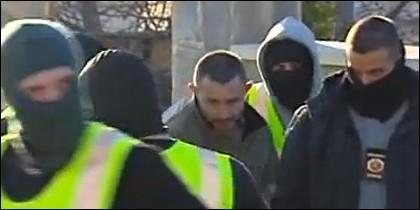 Andrei Petrov detenido por la Guardia Civil.