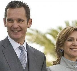 Urdangarín y la Infanta Cristina.