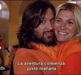 Rafel Amargo y su ex mujer, Yolanda en 'Expedición Imposible'.