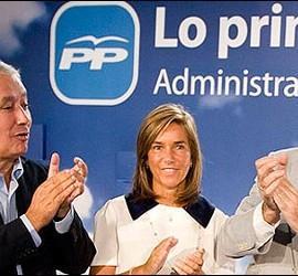 Arenas, Mato y Rajoy.