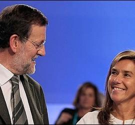 Mariano Rajoy y Ana Mato.
