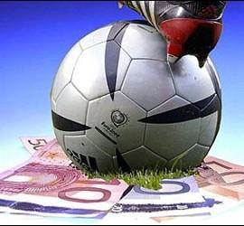 Fútbol, dinero, partidos, apuestas y resultados.