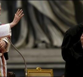 El Papa bendice a la Orden de Malta