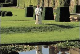 El Papa en el palacio de Castelgandolfo