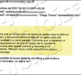 Correos de Urdangarín.