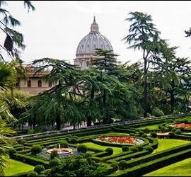 Visita guiada a los jardines vaticanos vaticano for Jardines vaticanos