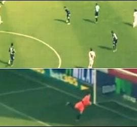 El gol de Jordi Amat.