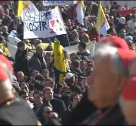 Benedicto XVI, y los cardenales